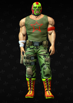Luchador grunt 6 - Clifford - character model in Saints Row The Third