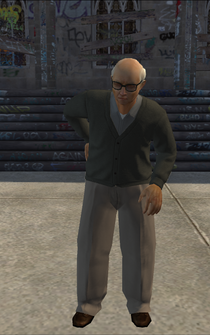 OldMan - asian - character model in Saints Row