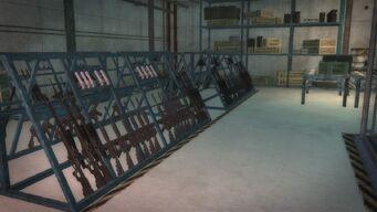 Pyramid - gun racks