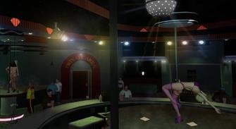 Technically Legal - Misty Lane - interior disco ball
