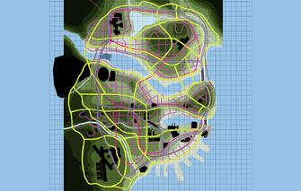 First Artist Rendered Map of Stilwater