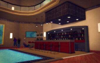 Hotel Penthouse - Ultra Modern - bar