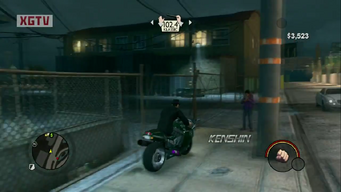 Kenshin with logo in a trailer for Saints Row The Third