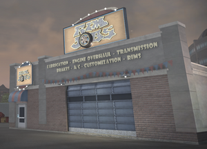Rim Jobs - front of building in Saints Row 2