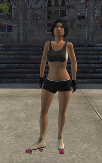 Rollerskater - asian1 - character model in Saints Row
