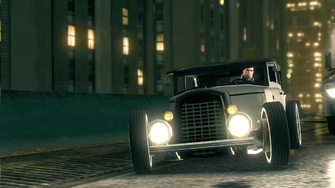Saints Row IV Announce Teaser - vehicle similar to Rumbler and Relic