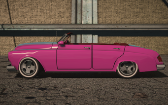 Saints Row IV variants - Gunslingerp Convertible - side