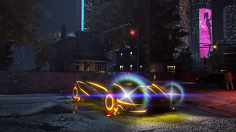 Wraith - front right in Saints Row The Third Remastered