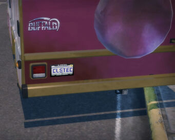 Buffalo B License Plate