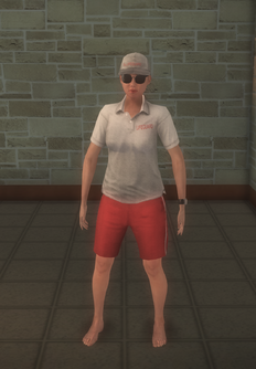 Lifeguard - white female - character model in Saints Row 2