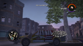Rampage - left in Saints Row 2