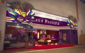 Rounds Square Shopping Center - Let's Pretend exterior