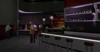 Stocks interior bar in Saints Row
