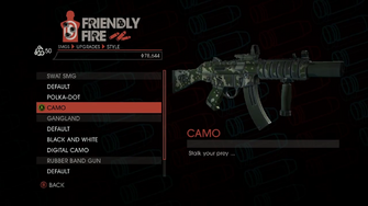 Weapon - SMGs - Heavy SMG - SWAT SMG - Camo