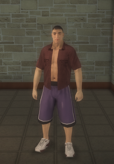 Arena fighter - asian - character model in Saints Row 2