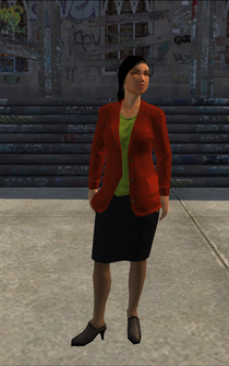 BusinessWoman-01 - AirportJewelryStore - character model in Saints Row