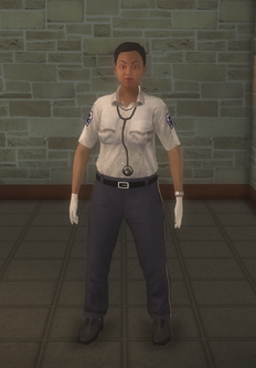 EMT - black female - character model in Saints Row 2