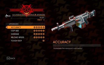 Gat out of Hell - Automatic Rifle (Ultor LMG) - Upgrades