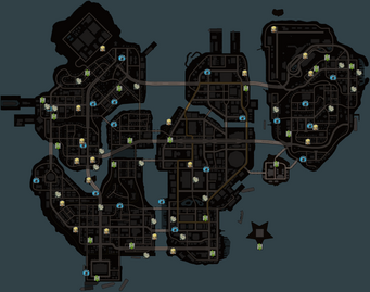 SRTT collectibles map