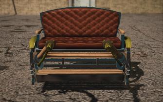 Saints Row IV variants - Pony Cart Default - front
