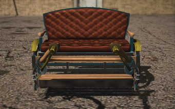 Saints Row IV variants - Pony Cart Default - front
