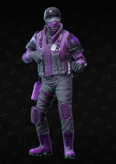 Saints SWAT sniper - Colin - character model in Saints Row The Third