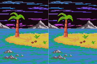 Text Adventures beach