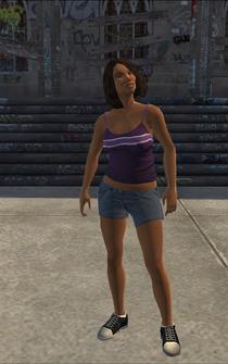 Wheel Woman - character model in Saints Row