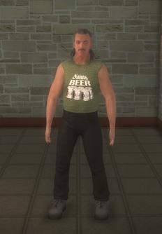 Biker male - white generic - character model in Saints Row 2