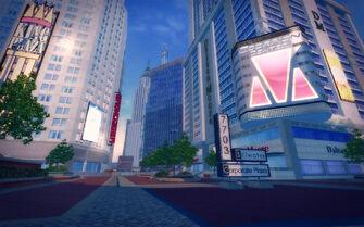 Filmore in Saints Row 2 - Stilwater Corporate Plaza