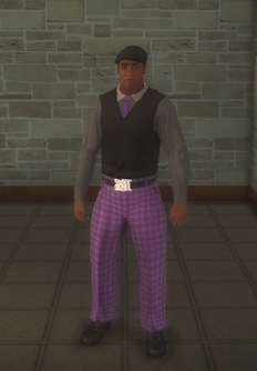 Gang Customization - Prephop - male lieutenant - black