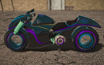 Saints Row IV variants - X-2 Phantom glitch - left