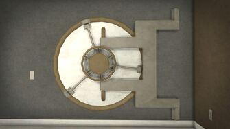 Stilwater Savings & Loan - interior vault door