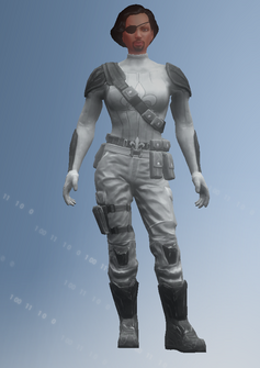 The Case of Mr X - Player - Evil Female - character model in Saints Row IV