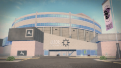 Ultor Dome Exterior in Saints Row 2