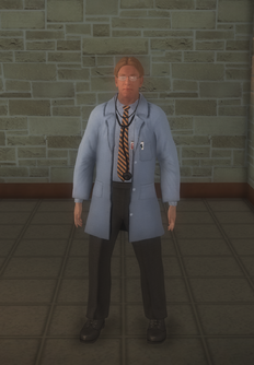 Doctor - lab white male - character model in Saints Row 2
