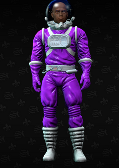 Gang Customization - Space Saints 2 - Forrest with Ned's head - in Saints Row The Third