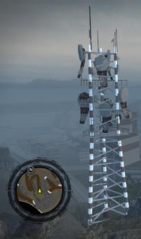 Mount Claflin radio tower at origin of 99.0 The Underground signal