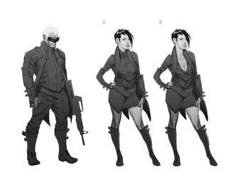 Playa - Saints Row IV Concept Art - 3 versions