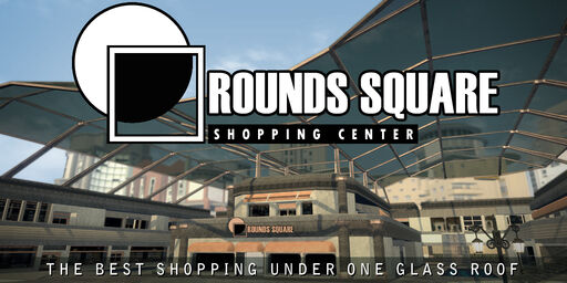 Rounds Square Shopping Center billboard