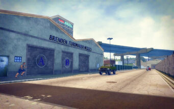 Truck Yard in Saints Row 2 - Brenden Turdmaker McGees