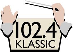 102.4 Klassic FM logo