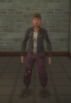 Bum - black female hats - character model in Saints Row 2