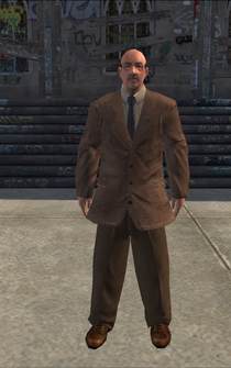 BusinessMan - White - character model in Saints Row