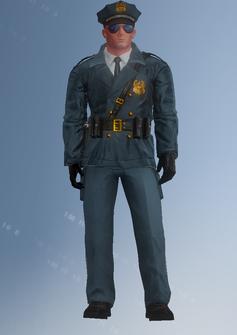 Cop - John - character model in Saints Row IV