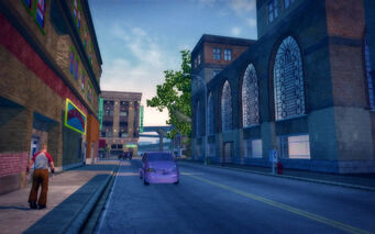 Encanto in Saints Row 2 - street