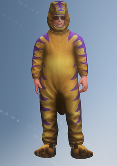 Raptor Ned - character model in Saints Row IV
