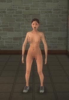 Streaker - female - character model in Saints Row 2