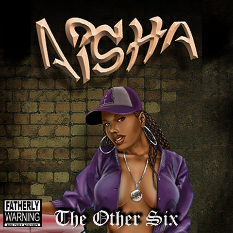 File:Aisha - The Other Six CD front cover.png