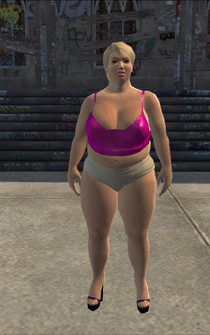BigHo - shortsOn - character model in Saints Row